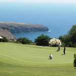 Golf sea view